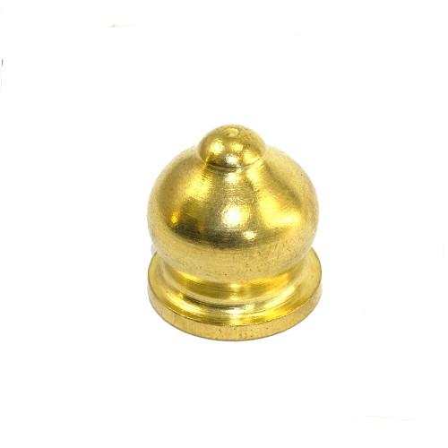 Solid Brass Ornamental Finial Nut 1/2'' x 26tpi Thread
