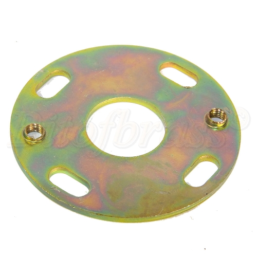 Steel Passivated Zinc Ceiling Besa Plate 64mm Diameter for Chandelier Mounting